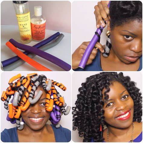 Hairstyles With 2 Flexi Rods   perfect flexi rod set misst1806 black hair information