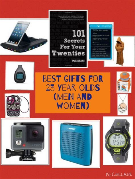 birthday and christmas gift ideas for 23 year olds men