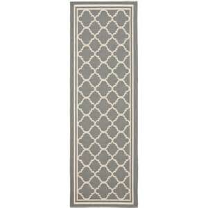 Waterproof Runner Rug Safavieh Anthracite Gray Beige Indoor Outdoor Runner Rug 2 2 Quot X 14