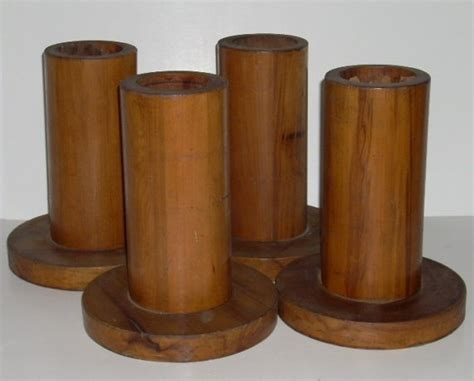 tall bed risers antique wooden wood tall bed risers