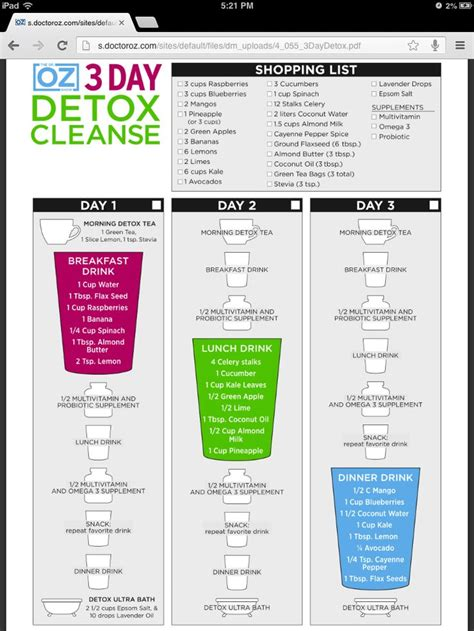 Shopping List For Sugar Detox Diet by 17 Best Images About Dr Oz On Tea