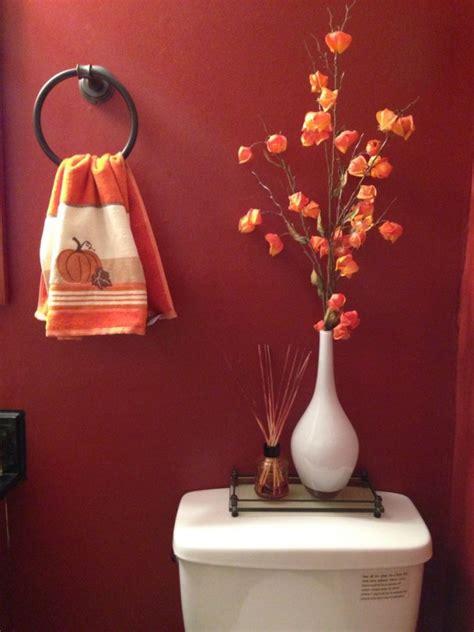 fall bathroom decor quick and pretty toilet decor adorable home