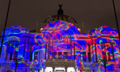 festival mexico city international festival of lights in mexico multimedia