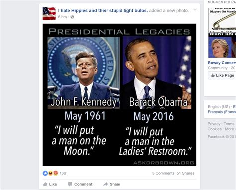 Meme Facebook - just how partisan is facebook s fake news we tested it