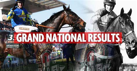 grand national 2015 full results the winner the grand national 2013 full results the winner the