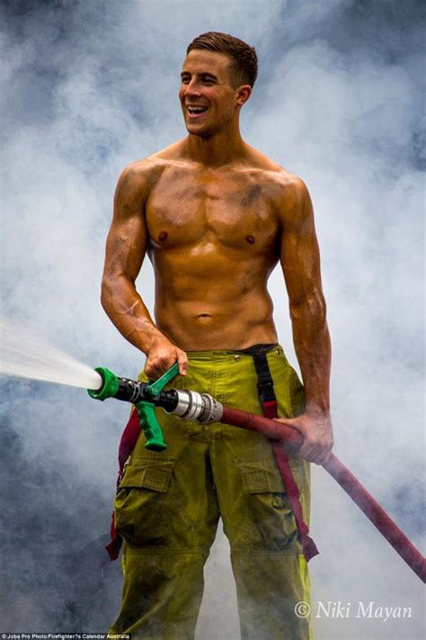 Sexy male firemen
