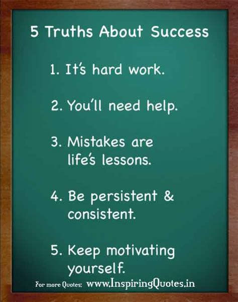 5 Truths about Success in Life Thoughts and Quotes Images ...