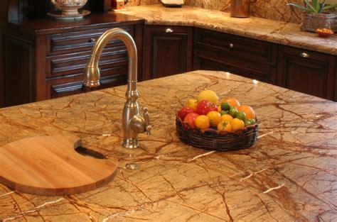 Kitchen Island Cutting Board finkel rain forest brown granite counters custom cutting