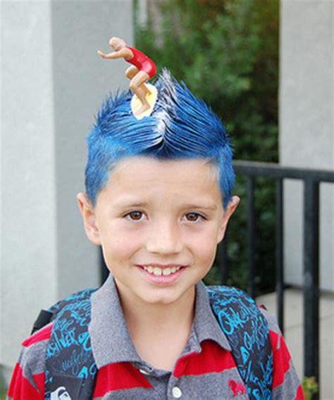 crazy hair ideas for 5 year olds boys crazy hair day ideas trusper