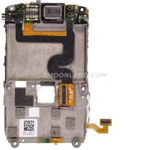 Lcd Blackberry 8900 Javelin Original blackberry javelin curve 8900 chassis mid housing with