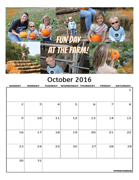 make personalized calendar 2016 free personalized calendars add your own photos