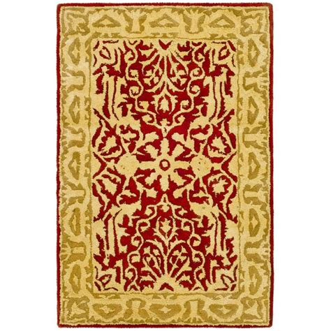 2 x 3 accent rugs safavieh silk road maroon ivory 2 ft x 3 ft accent rug skr213g 2 the home depot
