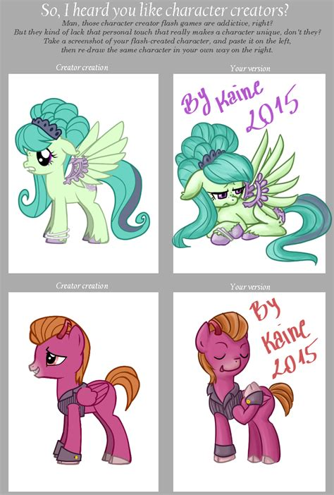 Meme Character Creator - mlp character creator meme 2015 by kaine chan on deviantart