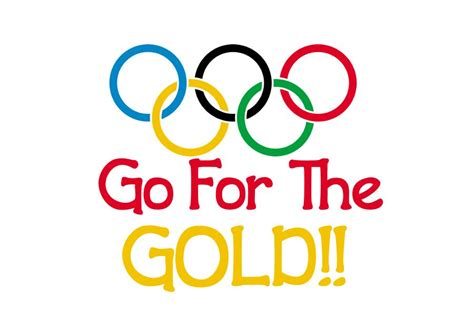 Goes For The Gold by Olympic Clip And Quotes Quotesgram