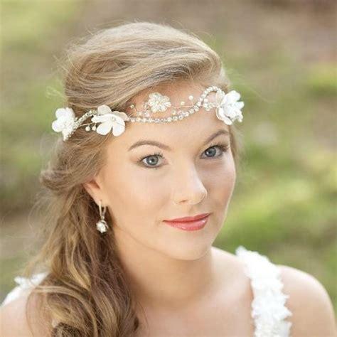 wedding bridal hairpiece vine wreath halo fascinator
