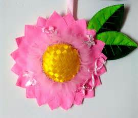 fiore in pannolenci fiore decorativo pannolenci bambini nascita di lo