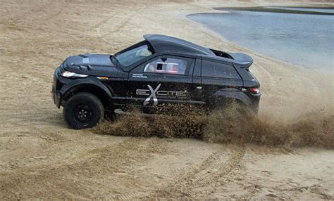land rover desert range rover evoque desert warrior 3 revealed autoevolution