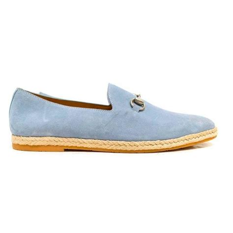pale blue loafers gucci light blue suede loafers for sale at 1stdibs