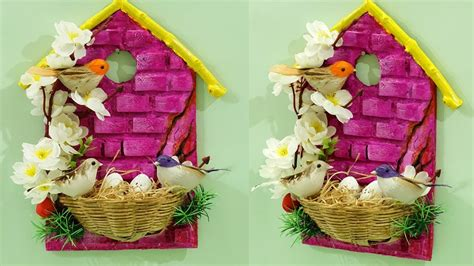beautiful diy home decoration  waste materials