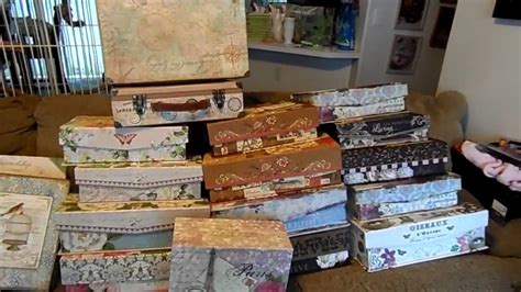 decorative boxes at dollar general michael s penny items decorative boxes 9 11 2013 youtube
