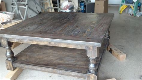 The Widow S Workshop Put Your Feet Up There S Plenty Of Stain Coffee Table