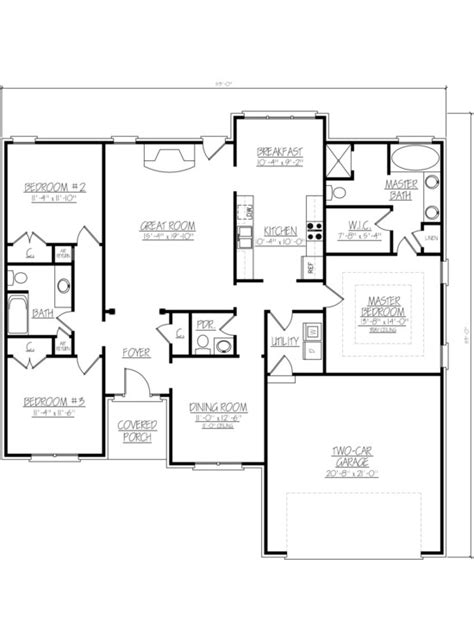 large 2 bedroom house plans large 2 bedroom house plans home mansion