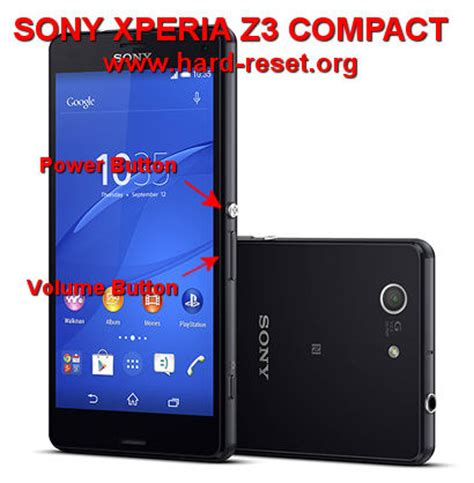 reset android sony xperia z3 how to easily master format sony xperia z3 compact d5803