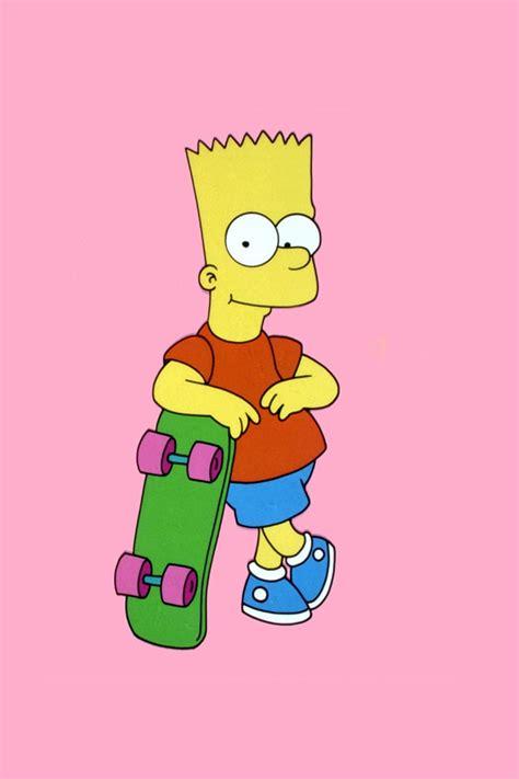 Bart Simpson Skateboarding Wallpaper