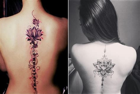 cool and unique spine tattoos