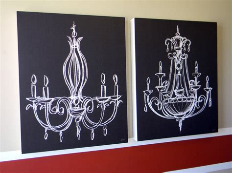 chalkboard paint on canvas wall organize and decorate everything