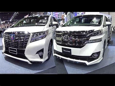 luxury minivan 2016 2016 2017 toyota alphard vs toyota vellfire luxury mpv