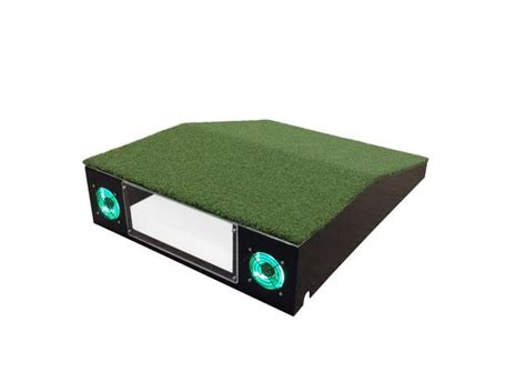 Golf Simulator Guys Optishot Mat by Projector Projector Box Package Golf Simulator Guys