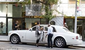 Chauffeur Driven Rolls Royce Tracy And Fianc 233 E Megan Wollover Enjoy Jean Claude