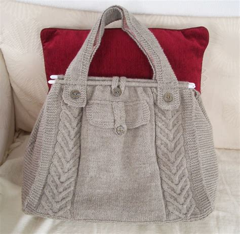free knitted tote bag patterns purse knitting patterns in the loop knitting