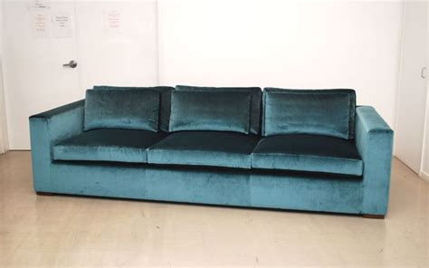 classic design custom silk velvet sofa