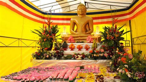 buddhist festivals the buddhist library