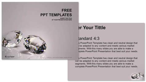 Diamond Recreation Powerpoint Templates Jewelry Ppt Templates Free