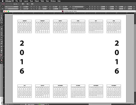 how to make a calendar in photoshop create a custom photo calendar in photoshop elements dummies