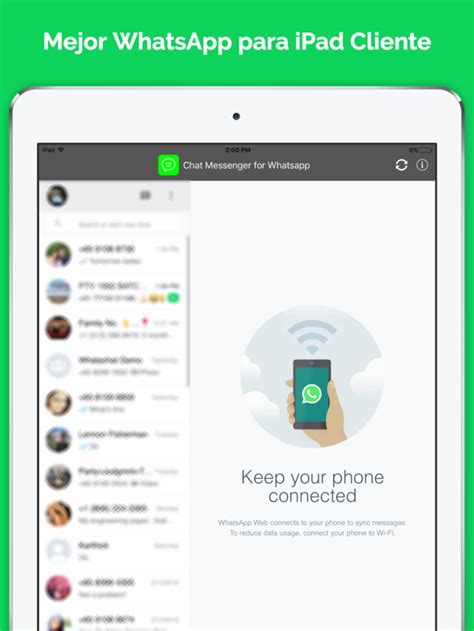tutorial de whatsapp para iphone messenger para whatsapp ipad chat versi 243 n gratis en app