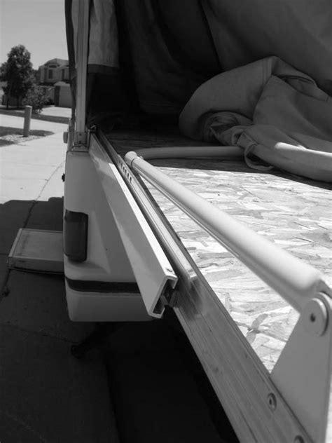 Pop Up Cer Mattress Replacement by Bent Sliding Bed Rails