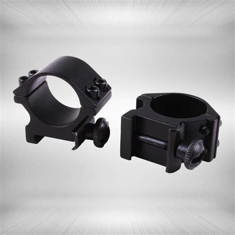 Gun Mount Senter 25 4mm gun accessories 25 4mm 2pcs low profile 20mm picatinny weaver rifle scope mount rings in