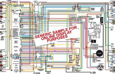 1972 Pontiac Gto Lemans Tempest Wiring Diagram