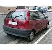 PARAURTI POSTERIORE NERO FIAT PUNTO 1&224 SERIE 93  8/99 EBay