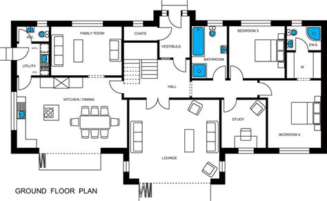 ground floor plan drawing council local plan seabreezes building plot for sale