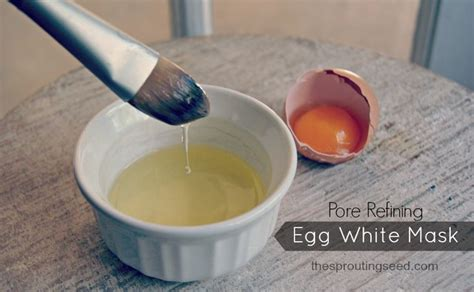 Pasaran Masker Egg White easy way to refine pores and remove blackheads