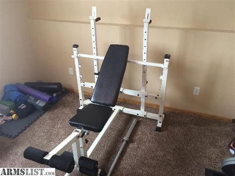 keys fitness weight bench armslist for sale trade keys fitness strength trainer