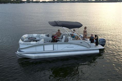 pontoon boats with head sylvan pontoon boats head turning luxury mind blowing