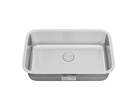7 kitchen sink ksn 3018 7 undermount single bowl kitchen sink allora