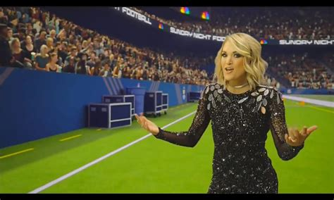 Football Song carrie underwood s new sunday football song