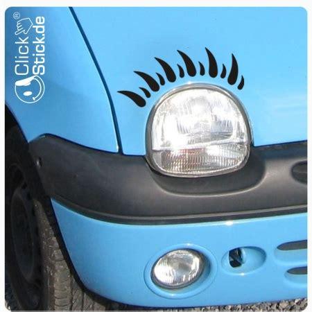 Autoaufkleber Wimpern by A1161 Twingo Wimpern Auto Aufkleber Autoaufkleber Sticker